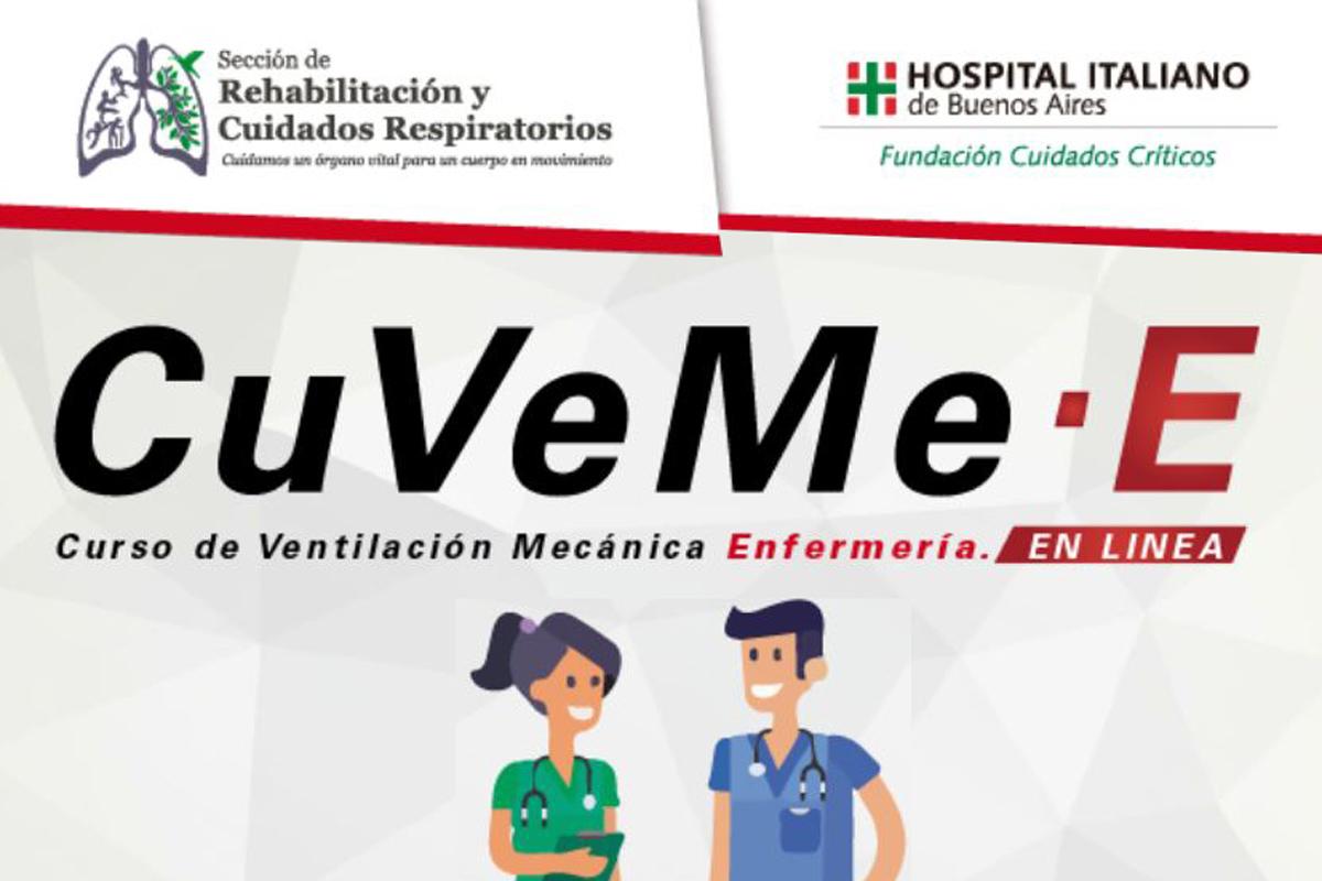CuVeMe – Curso de Virtual de Ventilación Mecánica para Enfermería